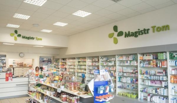 lékárna Magistr Tom v Boskovicích - interiér